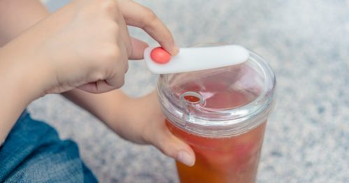 タピオカ専用タンブラー:FLOAT 漂浮珍奶杯