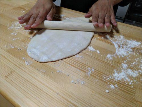 手作り蔥抓餅レシピ