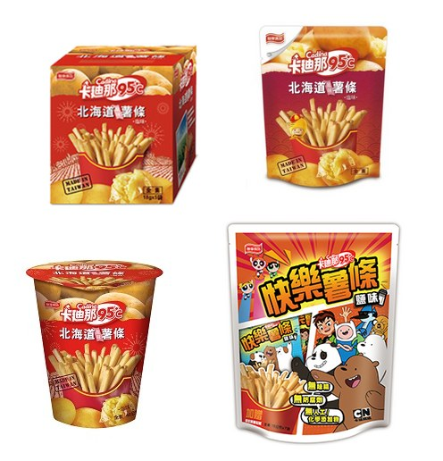 北海道風味薯條-塩味