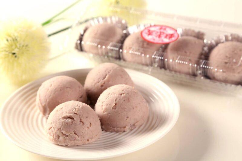 基隆夜市の「基隆連珍餅店」で絶品タロイモスイーツを食べよう!
