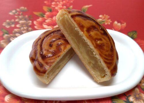 栗子小月餅